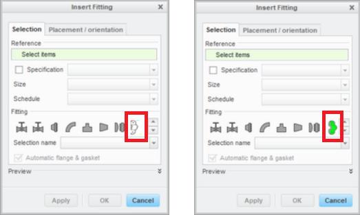 A comparison of a PCX (left) vs. a GIF (right) icon