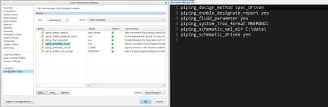 Creo Configuration Editor Export Per Current Filter