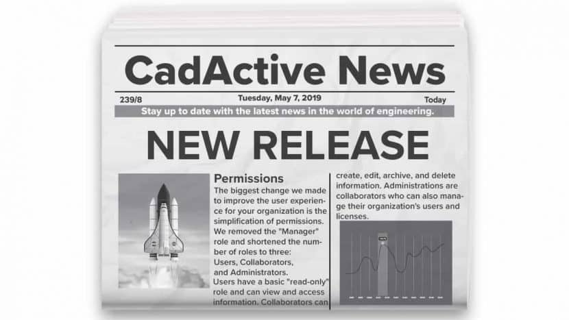 May 2019 Release - CadActive - PTC Creo Add On Extensions